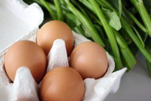 有機野菜と卵